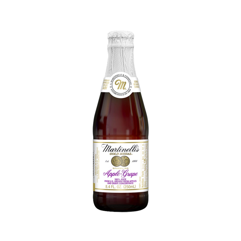 Martinelli's 蘋果葡萄汁氣泡飲 (250mlx12入)